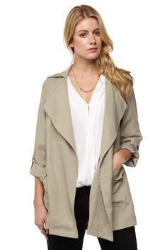 safari casual jacket | Cotton On