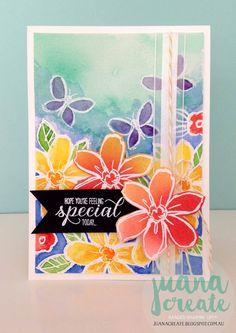 Juana Ambida Independent Stampin' Up!® Demonstrator Australia: Garden in Bloom - Hope you're feeling special today...