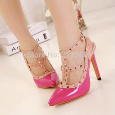 Find More Pumps Information about 2015 Spring Fashion Women's 11cm High Heel Shoes Less Platform Pumps Rivets Wedding Shoes Thin Heels Summer Shoes Brand New ,High Quality shoe arch support inserts,China shoes cotton Suppliers, Cheap shoe carnival shoes from Kingdon Wholesale on Aliexpress.com