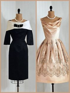 Vintage Mother Of The Bride Dresses (Source: orangeandblossom.com)