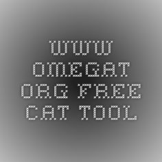 www.omegat.org Free CAT tool Drupal, Free Cat, Tools, Tutorials, Wizards, Appliance, Teaching