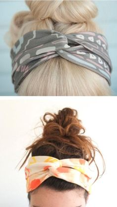 {DIY Twisted Turban Headband}