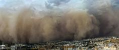 A mighty wall of dust hits Tehran in a striking new photograph taken during a severe haboob, or dust storm. Dust Storm, Tehran Iran, Persecution, Geography, 30, World, Pictures, Travel, Science News