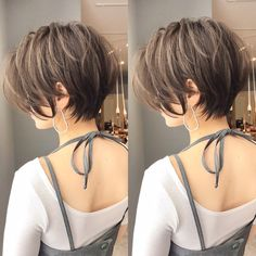 Asian Short Hair, Short Hairstyles For Thick Hair, Asian Hair, Short Hair Cuts, Korean Short Hairstyle, Long Bob Haircuts, Tomboy Hairstyles, Tomboy Haircut, Shot Hair Styles