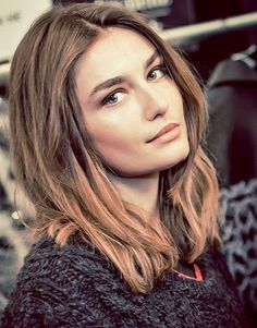 I'm in love with this gorgeous girl!! Romanian Model Andreea Diaconu