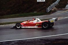 Gilles Villeneuve, Ferrari debut in 312T2, at Mosport Park, Ont., 1977