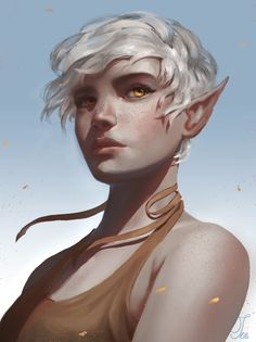 Elf Characters, Dungeons And Dragons Characters, Fantasy Characters, Fantasy Portraits, Character Portraits, Fantasy Artwork, Female Character Design, Character Design Inspiration, Character Art