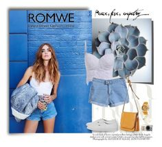 """""""Romwe"""" by aurora-australis ❤ liked on Polyvore featuring Vans, Accessorize, Invicta and romwe"""