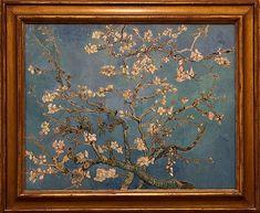 Vincent Van Gogh, Almond Blossom, 1890. Van Gogh Museum, Amsterdam.