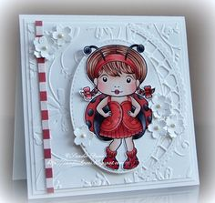 La-La Land Crafts Inspiration and Tutorial Blog: Inspiration Friday - White on White with a Pop of Red