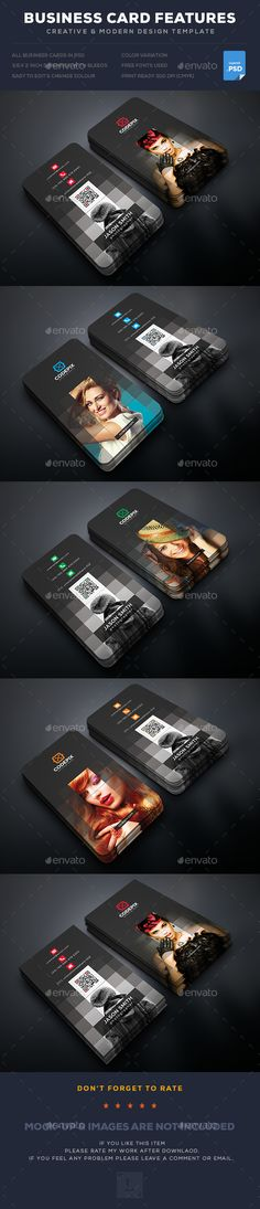 Photography Business Card — Photoshop PSD #simple #graphic • Available here → https://graphicriver.net/item/photography-business-card/17664025?ref=pxcr