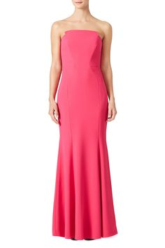 Peony Strapless Gown by Jill Jill Stuart for $100 | Rent The Runway
