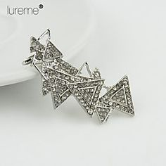 Lureme®  Europestyle Fashion Studded With Drill  Triangle  A... – USD $ 4.99