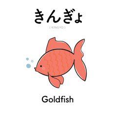 [94] きんぎょ | kingyo | goldfish