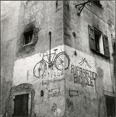 Vintage Bicycle adverts, Italy, 1950s