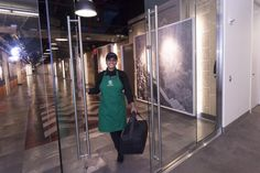 """Starbucks Launches Pilot Test Of Its Own """"Green Apron"""" Delivery Service, Starting In New York's Empire State Building 