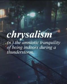 So.... that's the term for what I am feeling right now