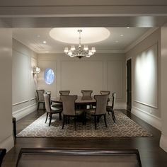 Wall Moulding Panels Design Ideas, Pictures, Remodel, and Decor
