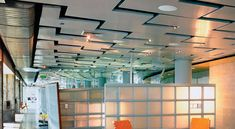 ILLUSIONS™ Metal suspended ceiling by Ceilings Plus