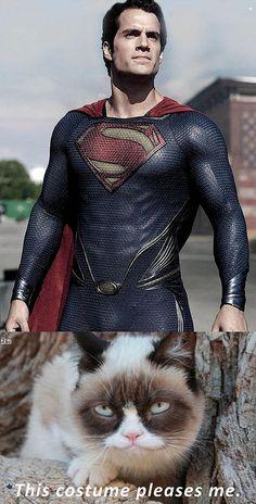 Henry Cavill-Grumpy Cat Meme by tkm by Henry Cavill Fanpage, via Flickr