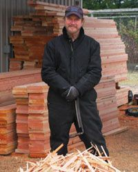Pioneer Log Siding handcrafting distresses new boards that appear aged historic square logs when installed. Rustic Charm, Rustic Decor, Log Cabin Siding, Fascia Board, How To Become Rich, Cabin Homes, Photo Galleries, Old Things, Rustic Cabins