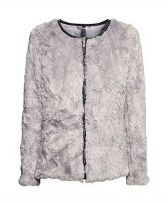 Light Grey Zipper Coat