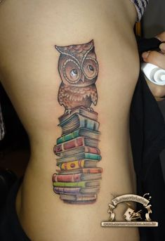 19+ Book Tattoos Images And Pictures