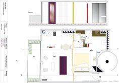 Modularité d'un studio, Fables de murs - Côté Maison