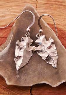 Silver Jewelry Inspired by Nature | Earrings
