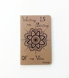 Moleskine Voltaire Cahier Journal Original