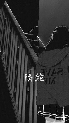 Nishio In 2020 Black Aesthetic Wallpaper Aesthetic Wallpapers Black Aesthetic Wallpaper Tumb. Dark Wallpaper Iphone, Sad Wallpaper, Anime Scenery Wallpaper, Cute Anime Wallpaper, Wallpaper Samsung, White Wallpaper, Trendy Wallpaper, Wallpaper Pictures, Screen Wallpaper