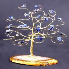 wire tree cake topper