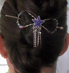 DIY 4th of July Hair Style Ideas - Lilla Rose July 4th Flexi Clip