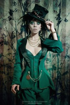 the portrait: mad hatter. ophelia overdose.