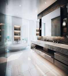 Need a new garden or home design? You're in the right place for decoration and remodeling ideas.Here you can find interior and exterior design, front and back yard layout ideas. Modern Master Bathroom, Small Bathroom, Bathroom Pink, Condo Bathroom, Budget Bathroom, Bathroom Ideas, Bathroom Design Inspiration, Design Ideas, Bathroom Design Luxury