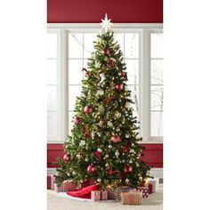 Green Spruce Artificial Christmas Tree with Clear/White Lights, and these are available on the link provided which directs to Wayfair. Available in feet tall up to 9 feet and are very affordably priced. Christmas Tree Delivery, Spruce Christmas Tree, Christmas Tree Storage, Cool Christmas Trees, Christmas Time, Christmas Decorations, Tree Decorations, Christmas Ideas, Xmas Trees