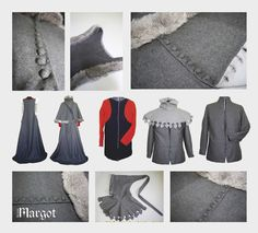 Medieval reenactment clothing