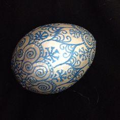 Mandala and Egg by Lunamada on Etsy, $40.00