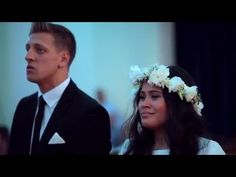 Amazing show of solidarity and support.  Wedding HAKA.  What a beautiful couple.