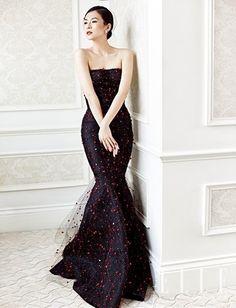 Zhang Ziyi for ELLE China