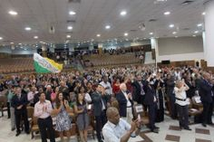 Festa do Dia do Pastor 2014, no Centro de Convenções da Catedral Mundial da Fé.