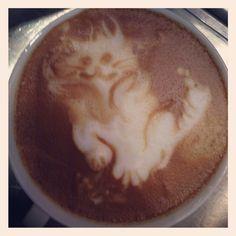 Latte Art  by Jenny W.