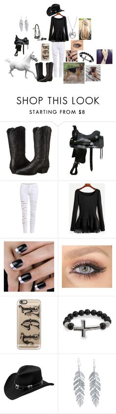 """""""Riding"""" by maggie-white on Polyvore featuring Ariat, Casetify, Bling Jewelry, Master Hatters of Texas and Belk Silverworks"""