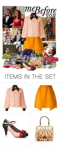 """""""Me before You"""" by pinkaddicted ❤ liked on Polyvore featuring art"""