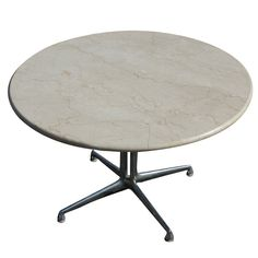 Eames For Herman Miller Marble LaFonda Coffee Table | From a unique collection of antique and modern coffee and cocktail tables at https://www.1stdibs.com/furniture/tables/coffee-tables-cocktail-tables/