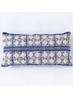 Take a look at this Blue & Cream Basant Long Pillow today! Blue Throw Pillows, Decorative Throw Pillows, Accent Pillows, Pillows Online, Long Pillow, Blue Cushions, Pillow Reviews, Cotton Pillow, Blue Cream