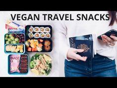 VEGAN TRAVEL SNACK IDEAS - YouTube