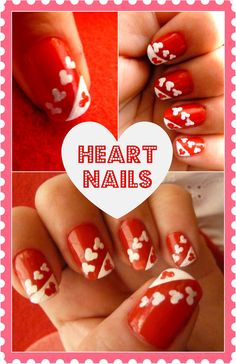 My Heart Nails & My Kids Valentine's for School |