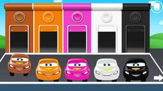 Colors Game for Children - Kids learn color with Car Parking, Cars ...