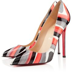 Christian Louboutin Pigalle ($625) ❤ liked on Polyvore